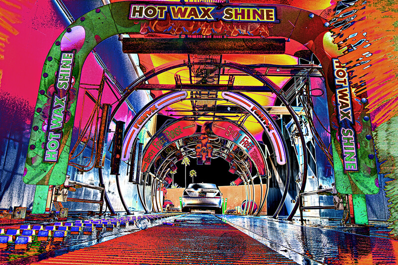 Colorful Tunnel Image